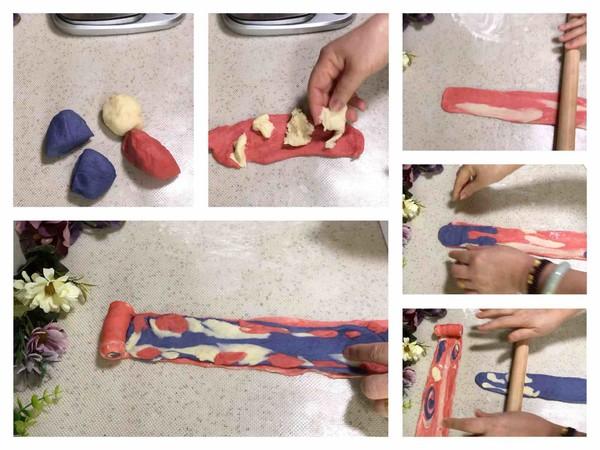 梦幻星空面包怎么做