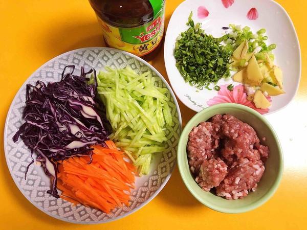 炸酱拌蔬菜米线的做法大全