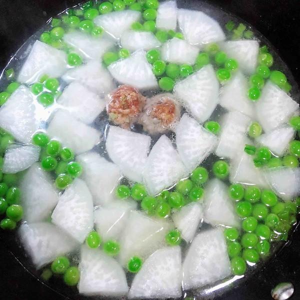 萝卜肉丸汤(10分钟快手菜)怎样炒
