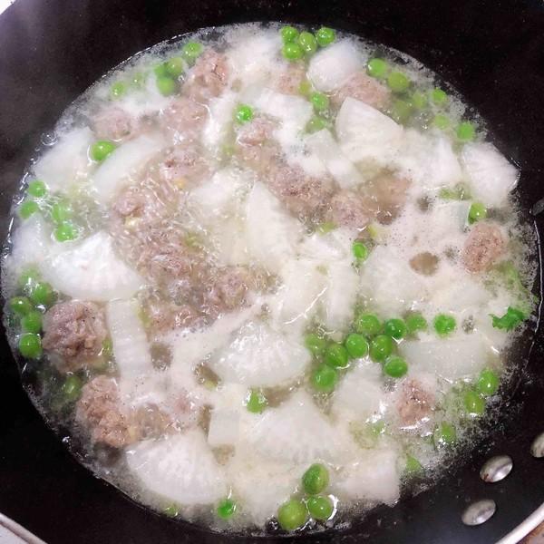 萝卜肉丸汤(10分钟快手菜)怎样煮