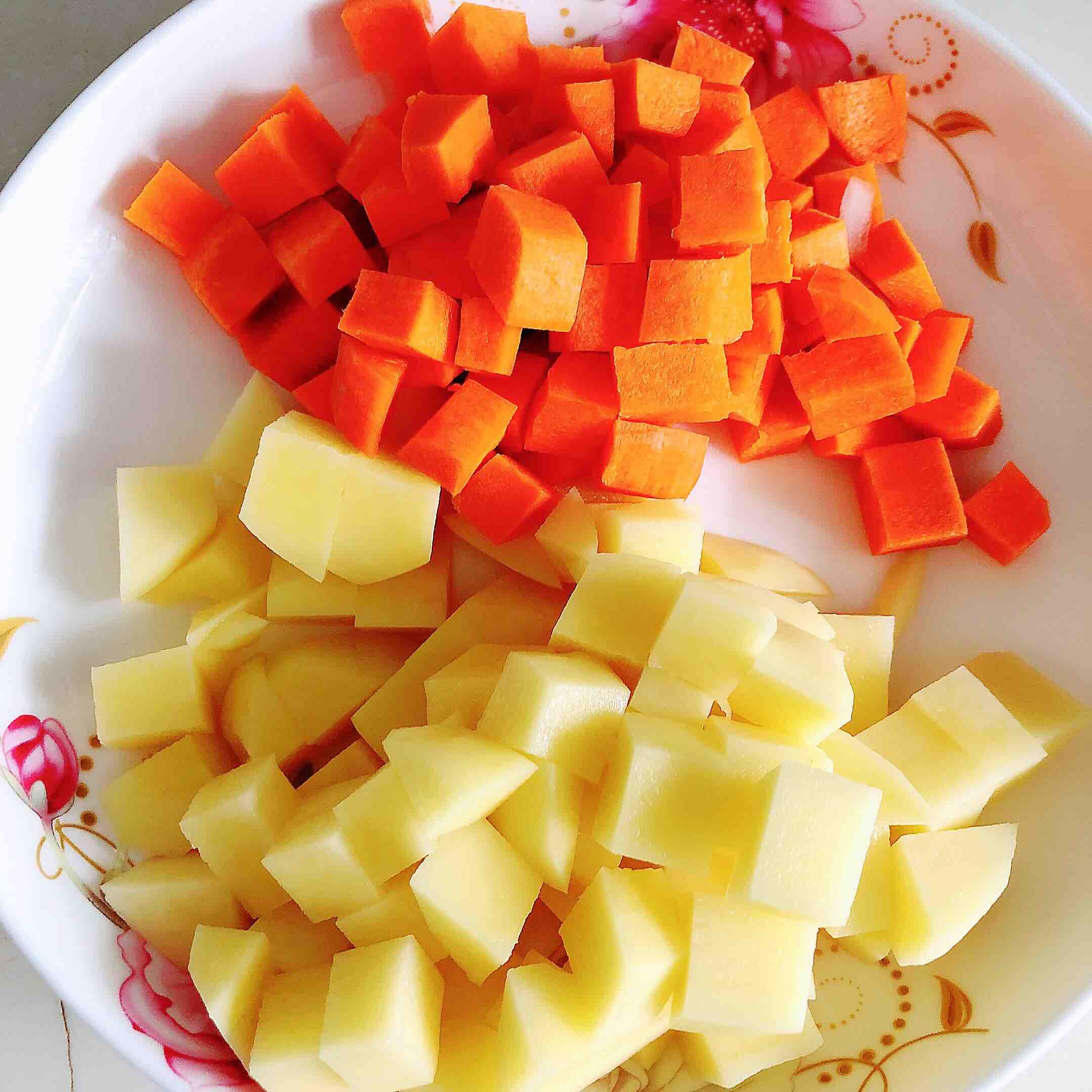 咖喱虾仁鲜蔬意面的家常做法