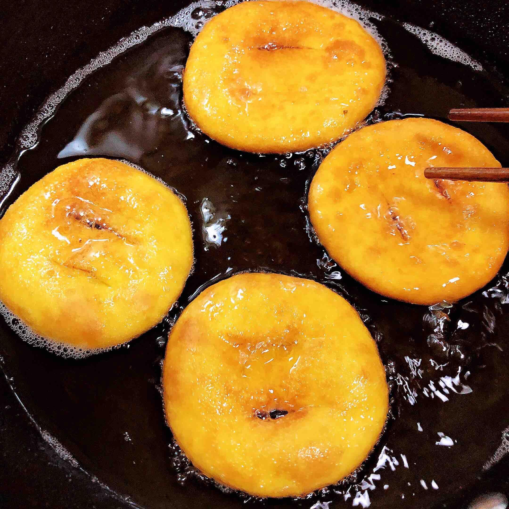 南瓜油饼怎样炒