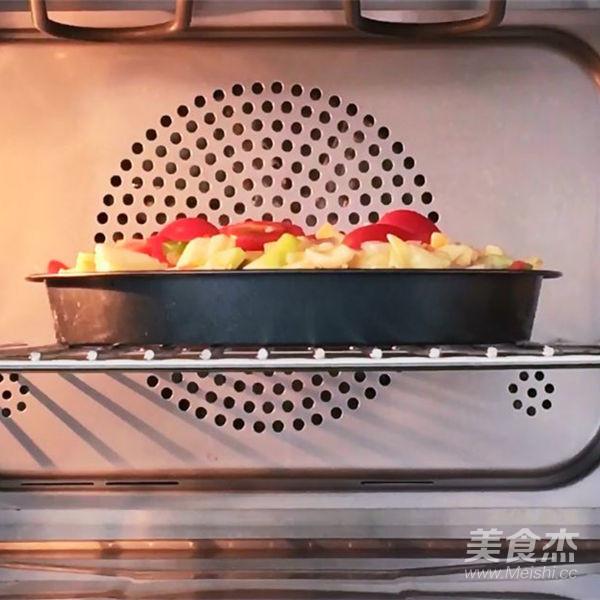 自制蒸烤箱版披萨怎么煮