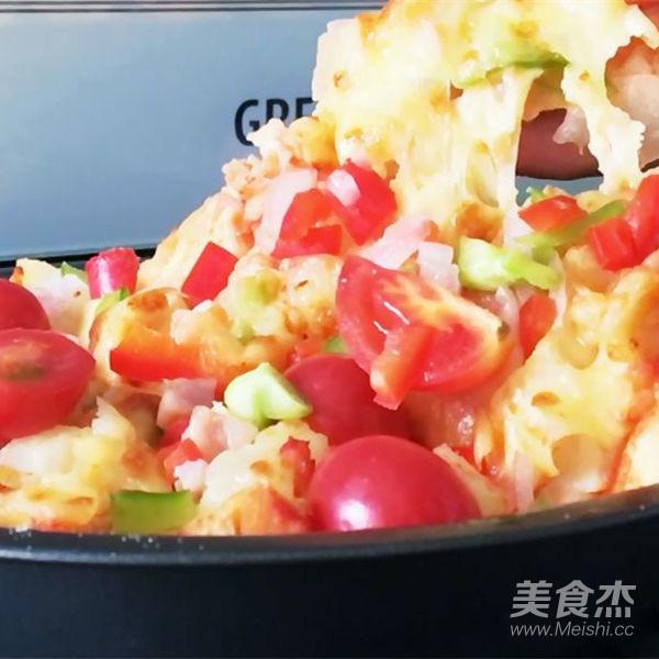 自制蒸烤箱版披萨怎么炖