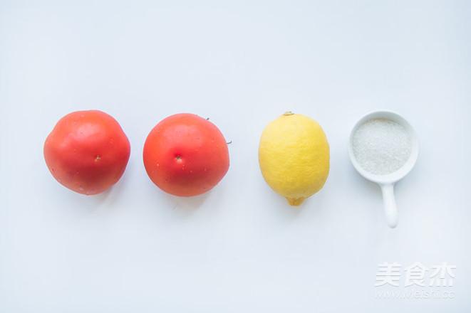 番茄柠檬汁让你变更白的做法大全