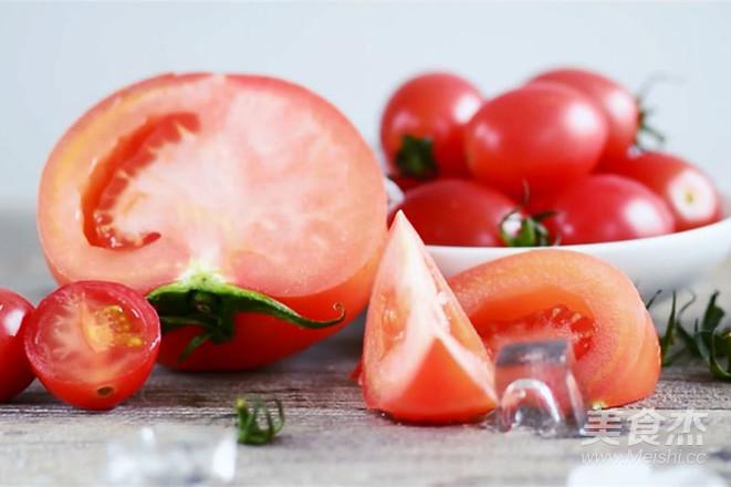 番茄柠檬汁让你变更白的做法图解