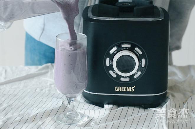 健康蓝莓燕麦早餐奶怎么炒