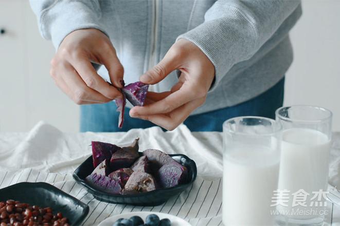 健康蓝莓燕麦早餐奶的简单做法