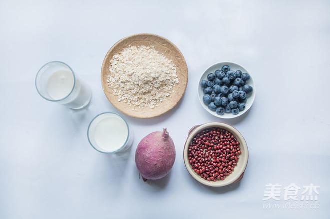健康蓝莓燕麦早餐奶的做法大全