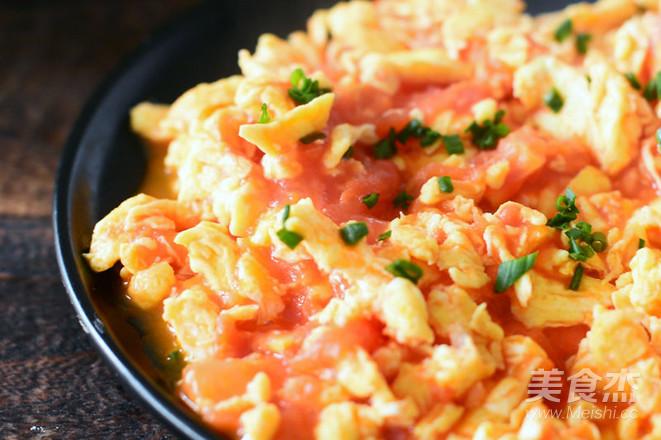 与众不同的番茄炒蛋怎么炒
