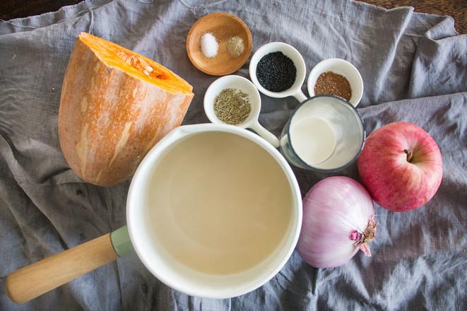 假日南瓜浓汤的做法大全