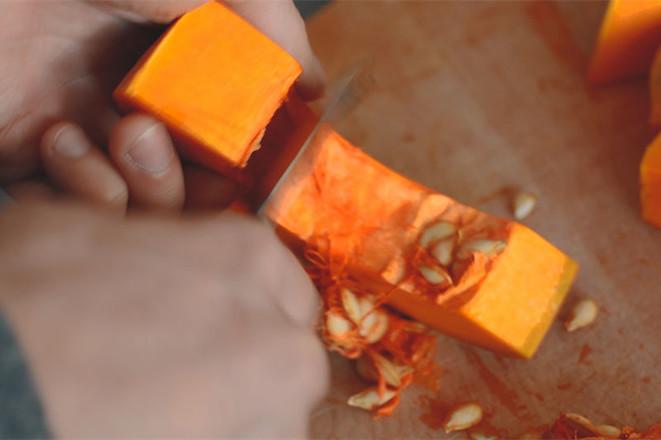 假日南瓜浓汤的做法图解
