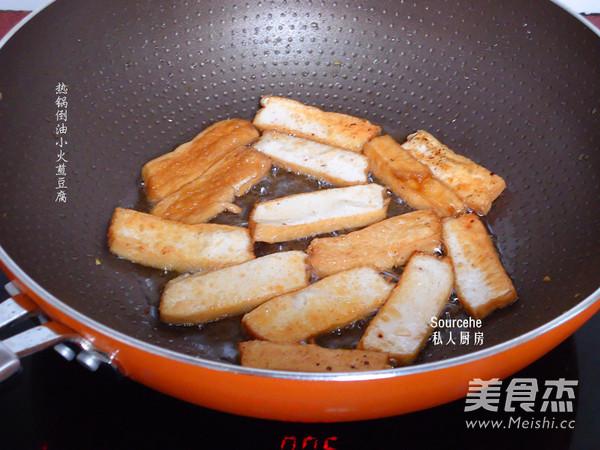 豆腐焖豆角的做法图解