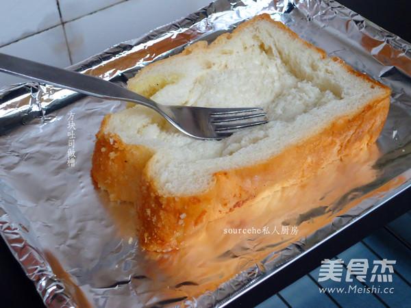 西红柿太阳蛋吐司的简单做法