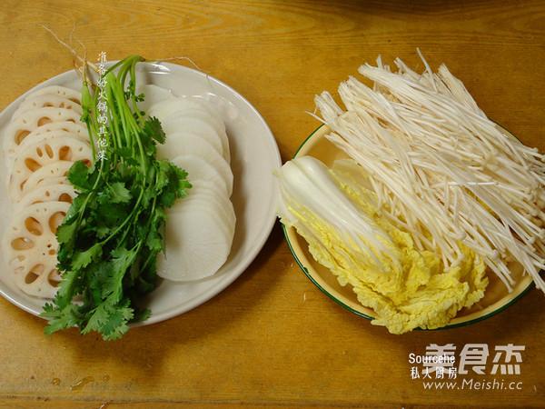 香浓牛肉味清汤火锅的家常做法