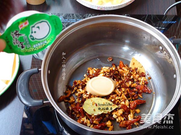 香辣火锅的简单做法