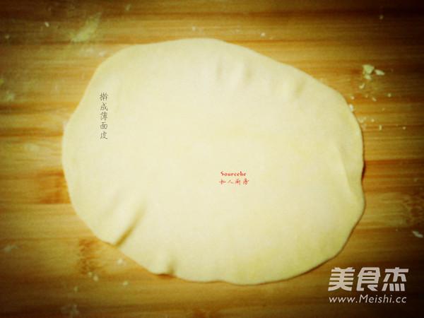 老坛酸菜千层饼的步骤