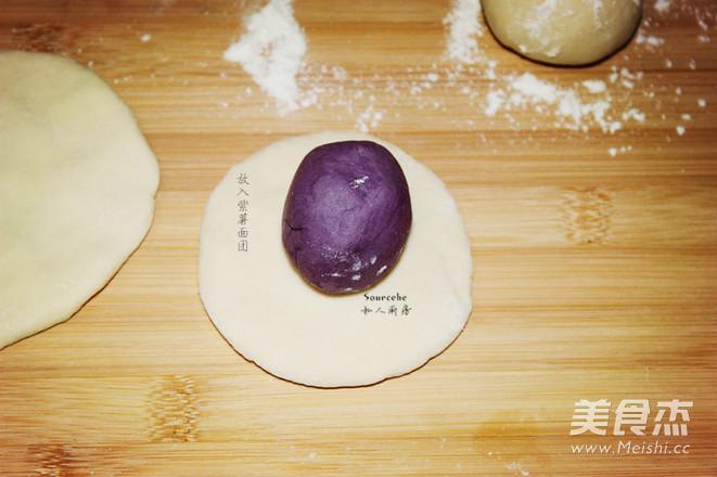 紫薯开花馒头怎么煸
