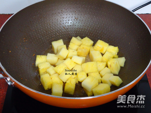 菠萝鸡怎么吃