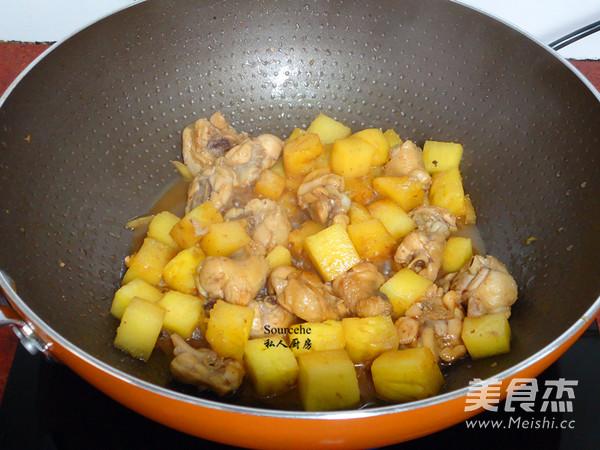 菠萝鸡怎么炒