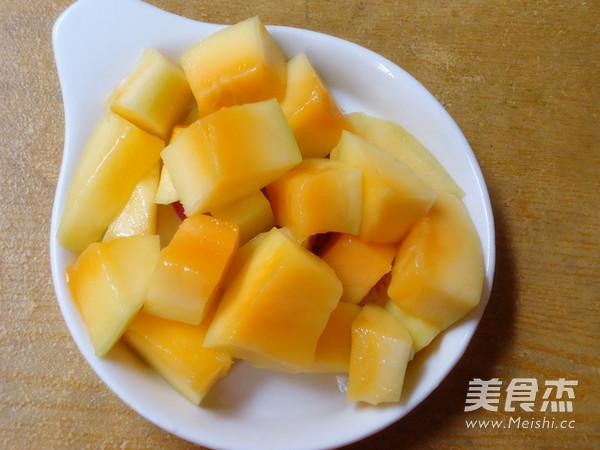 芒果糯米糍怎么做