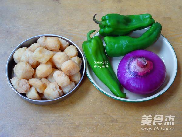 洋葱青椒焖豆腐的做法大全