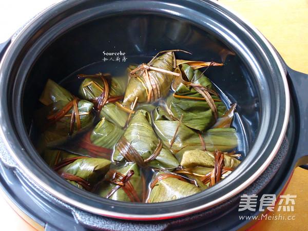 广式枧水粽怎么煸
