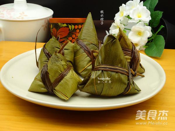 广式枧水粽怎样煸