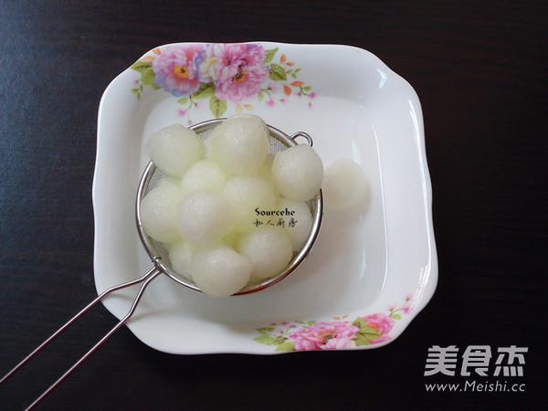 黑加仑冬瓜球的简单做法