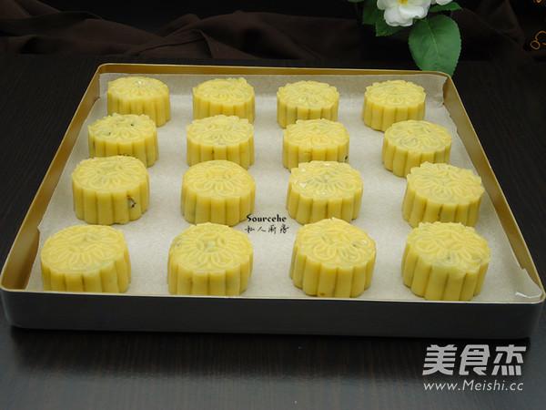柠檬伍仁月饼怎样做