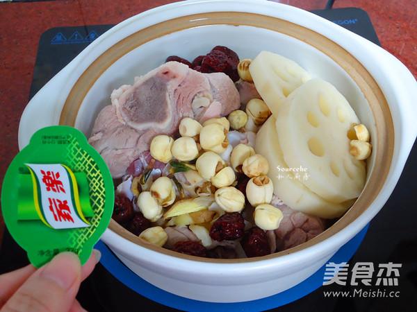 红枣莲藕汤怎么吃
