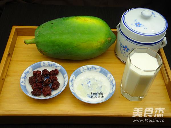 木瓜红枣炖奶的做法大全