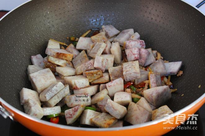 鱼香紫芋怎么做