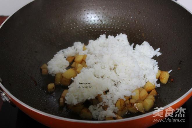 土豆炒饭的简单做法