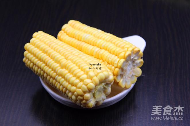 蜜汁蒸玉米的做法图解