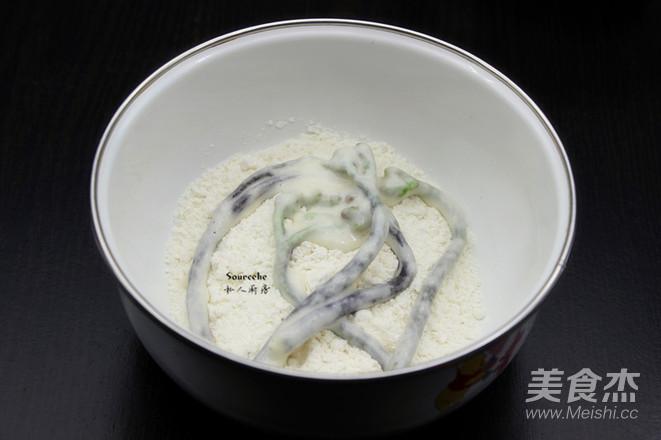 香酥炸蕨菜怎么吃