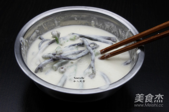 香酥炸蕨菜的简单做法