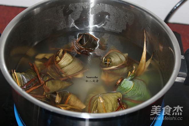 广式腊味粽怎么煮