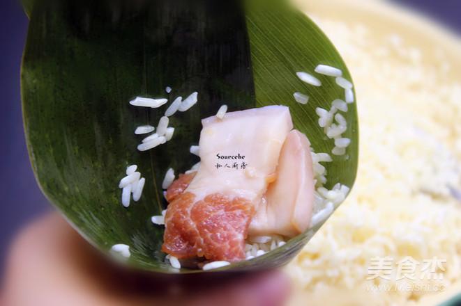 鲜肉咸味粽怎么做