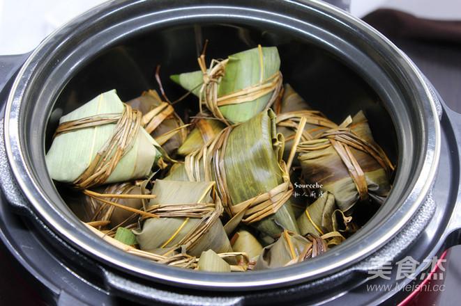 鲜肉咸味粽怎么煮