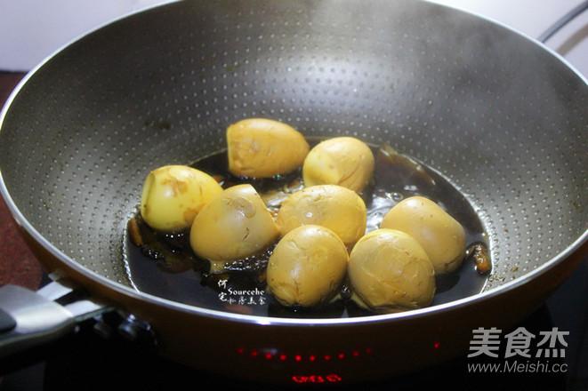 乡巴佬卤鸡蛋怎么炒