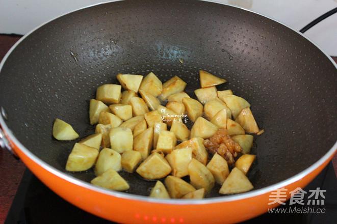 糖醋白薯怎么做