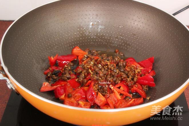 腊八豆炒上海青的简单做法