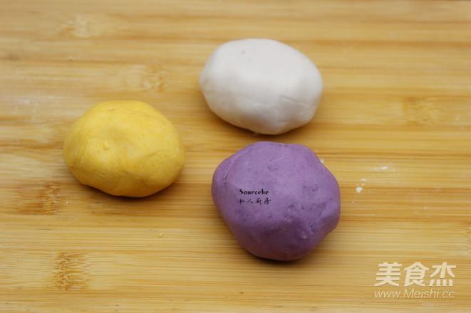 彩色芋圆的家常做法