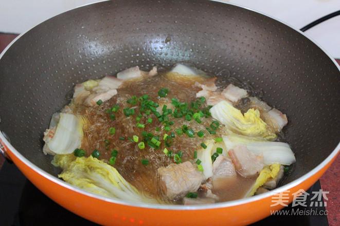 大白菜炖粉丝怎么煮