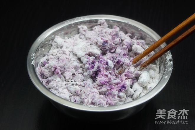 酥脆紫薯丸子的家常做法