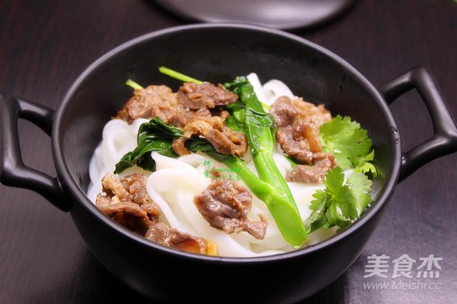 广州宴客餐,肉牛汤河粉怎么煮