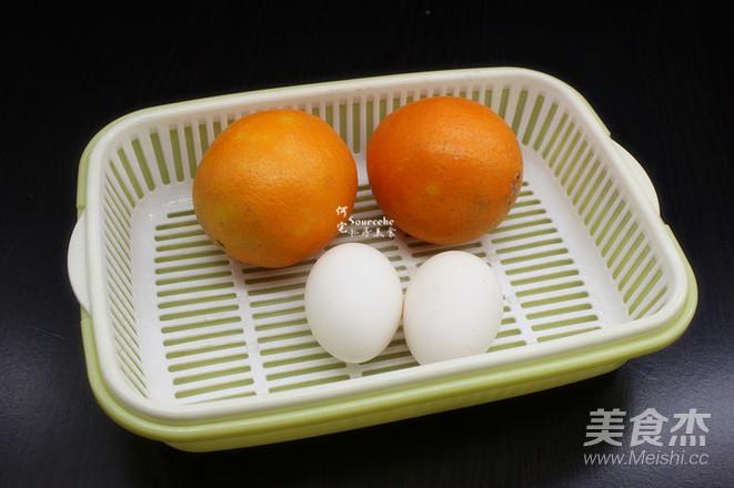 润肺止咳,柳橙蒸蛋的做法大全