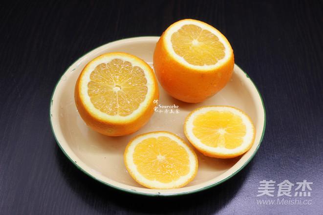 润肺止咳,柳橙蒸蛋的家常做法