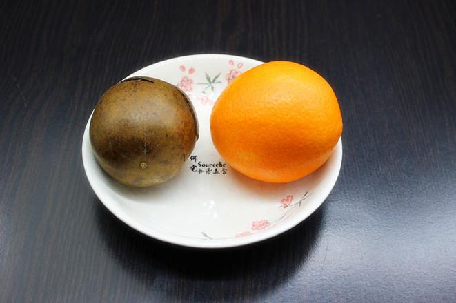 润肺止咳,罗汉果蒸橙子的做法大全